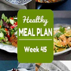 Healthy Meal Plan {Week 45}