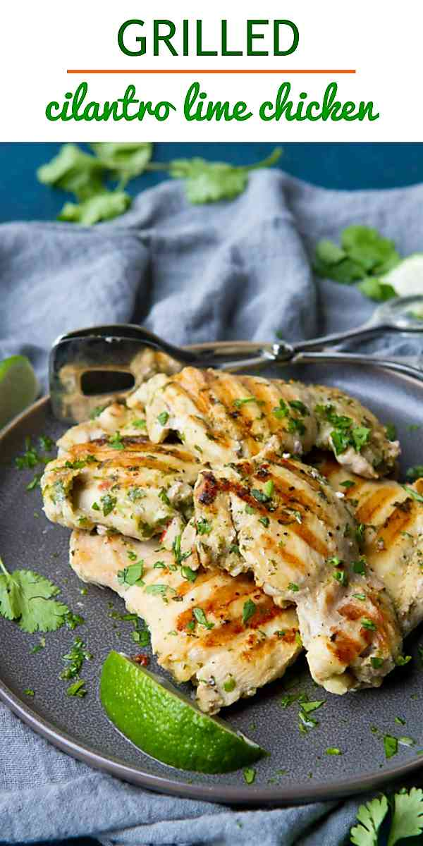 This healthy and easy grilled chicken recipe is a fantastic option for weeknight meals! 217 calories and 3 Weight Watchers Freestyle SP