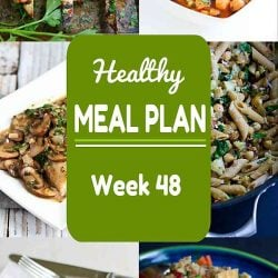 Healthy Meal Plan {Week 48}