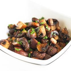 Roasted Mushrooms with Rosemary & Garlic Recipe