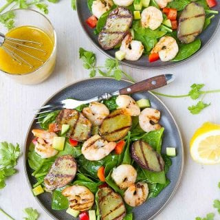 Grilled Moroccan Shrimp Potato Salad Recipe