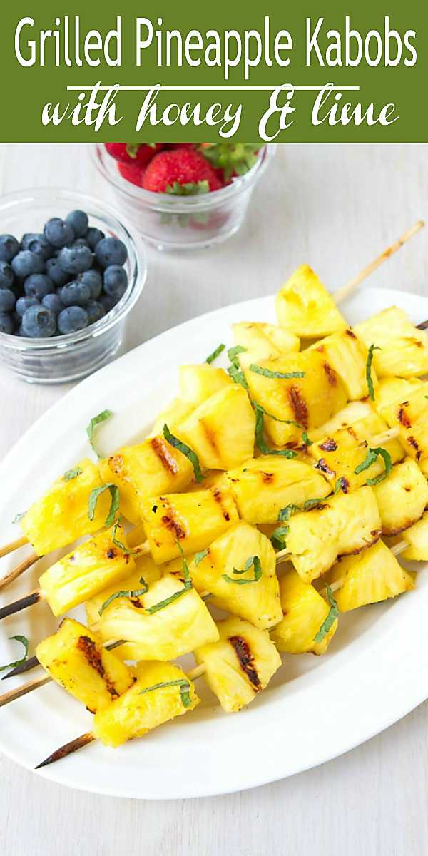 Serve up this grilled pineapple recipe when you're craving something sweet alongside your dinner, or after dinner with a scoop of frozen yogurt. 72 calories and 2 Weight Watchers Freestyle SP #pineapple #fruit #healthy