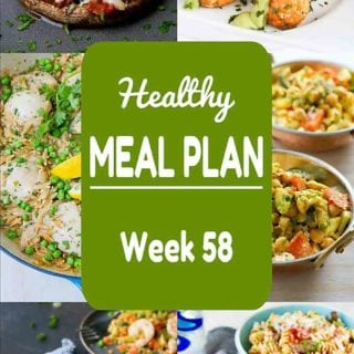 Healthy Meal Plan {Week 58}