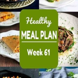 Healthy Meal Plan {Week 61}