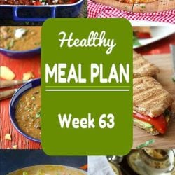 Healthy Meal Plan {Week 63}