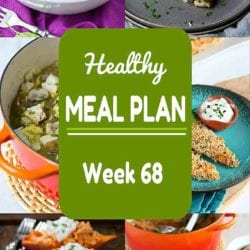 Healthy Meal Plan {Week 68}
