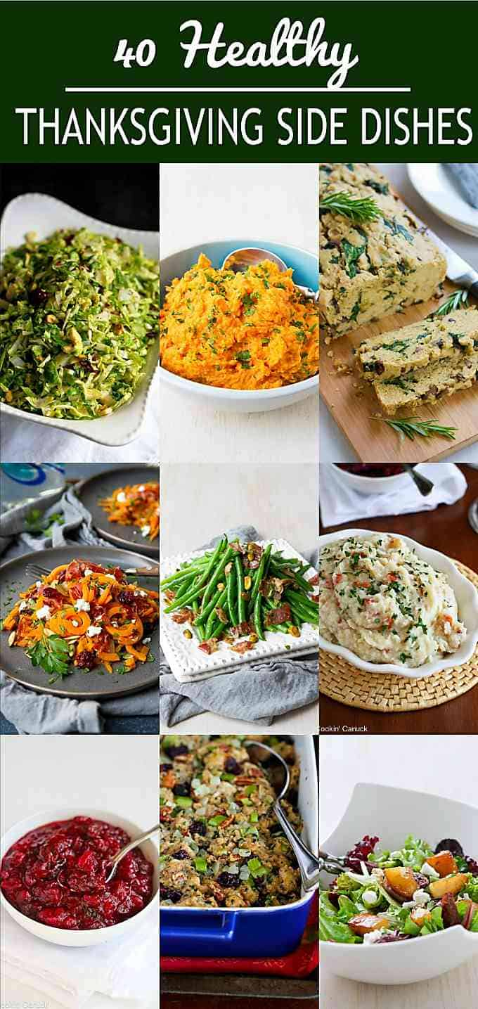 40 Healthy Thanksgiving Sides , Cookin Canuck Holiday Recipes