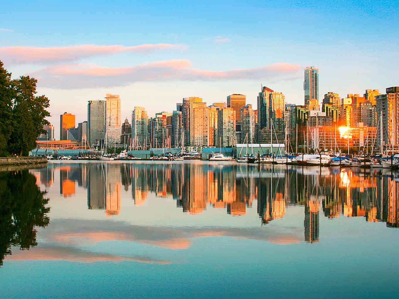 Vancouver, Canada - New destination for the Royal Princess cruise ship. #travel