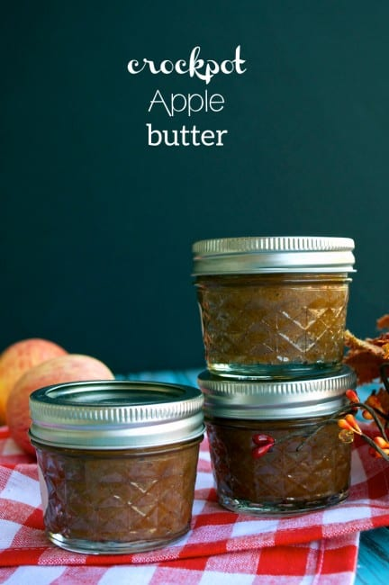 Crockpot Apple Butter - Gift Idea