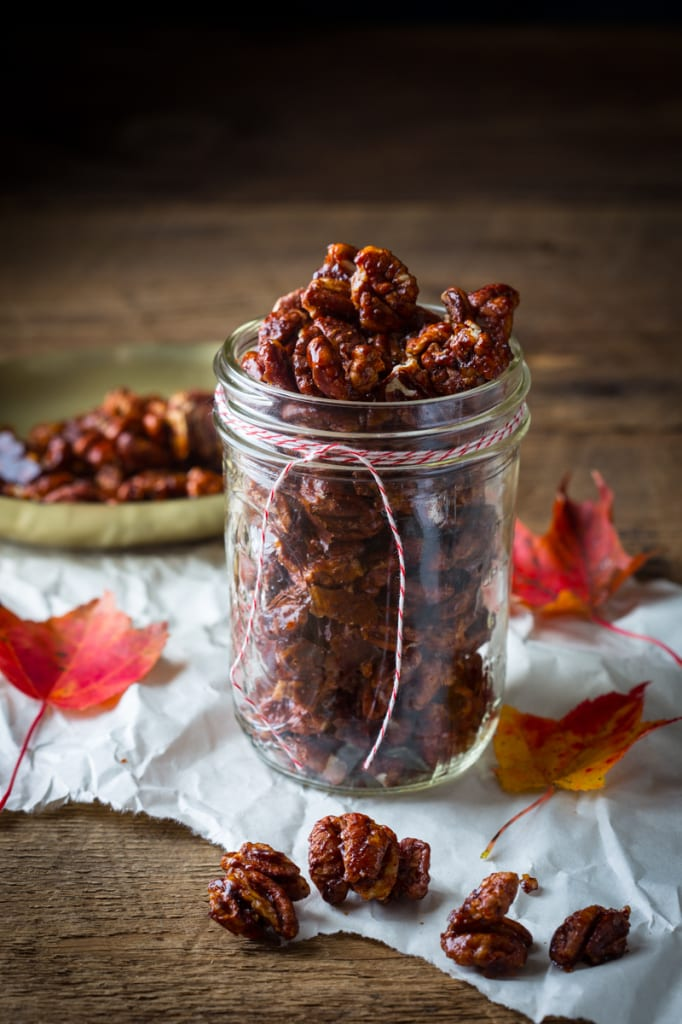 Chocolate Chili Spiced Pecans - Gift Idea