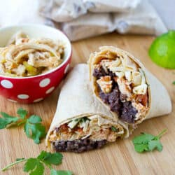 Freezer Burritos {Instant Pot Recipe}