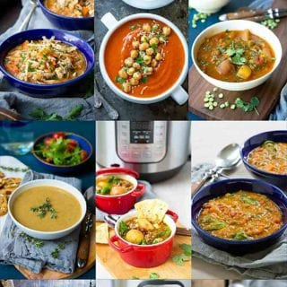 Easy dinner prep, here we come! 19 Healthy Instant Pot Soup Recipes to make your weekly meal prep quick, easy and nutritious. #instantpot #pressurecooker #soup #recipe