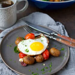 Greek Potato Breakfast Skillet Recipe