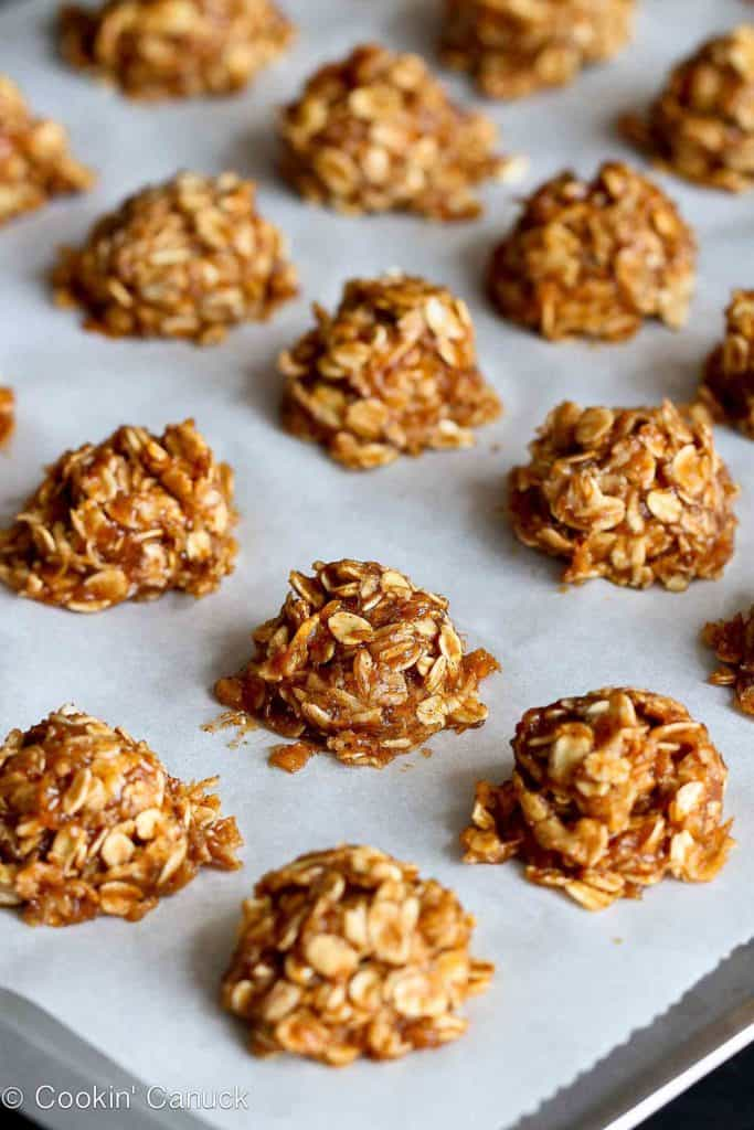 Healthy No Bake Cookies Recipe With Maple Banana Vegan