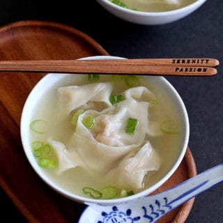 Whip up your favorite Asian takeout recipes, such as Shrimp and Pork Wonton Soup, at home, with the help of an awesome ebook that's full of easy, flavorful recipes. 174 calories and 4 Weight Watchers Freestyle SP #shrimp #wonton #soup #weightwatchers
