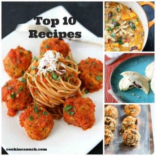 Out of hundreds of recipes, these top 10 recipes are my most popular recipes. There's everything from soup to cookies to quick breads. #recipes