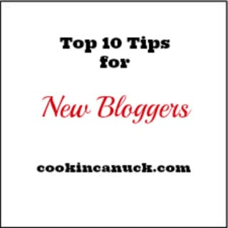 Top 10 Tips for Food Bloggers #blogging