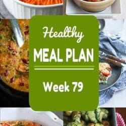 Healthy Meal Plan {Week 79}