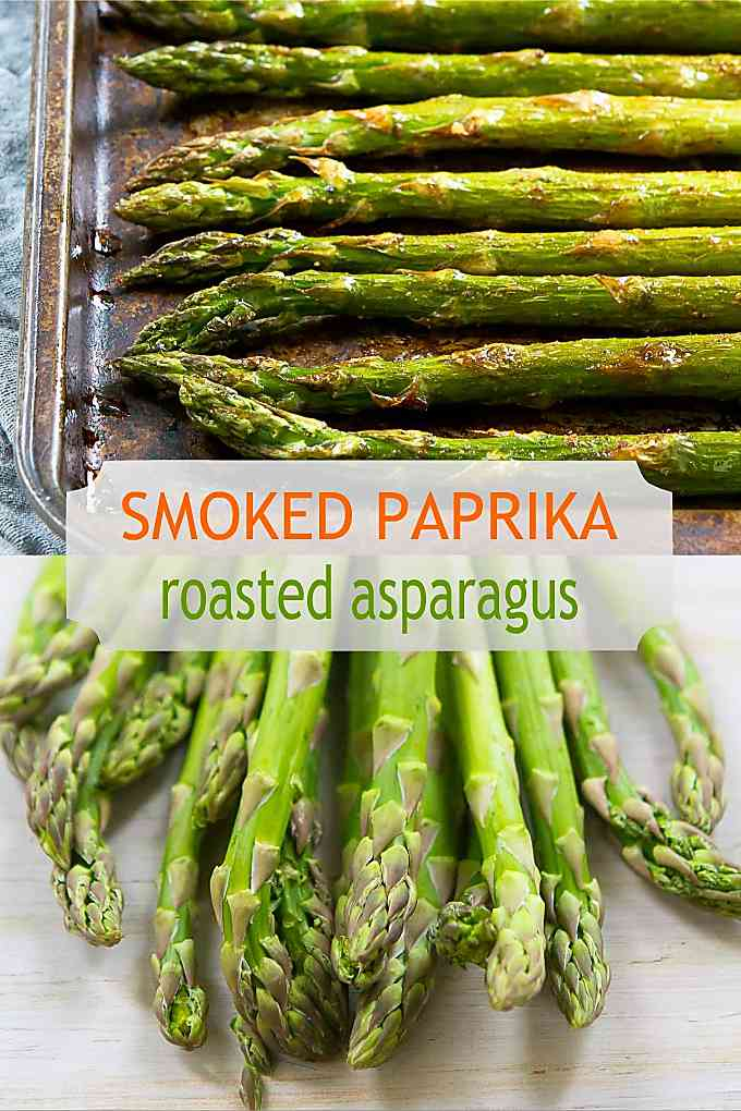 This roasted asparagus recipe is one of the easiest ways to get a springtime side dish on the table! 47 calories and 1 Weight Watchers Freestyle SP #weightwatchers #wwfreestyle #healthyrecipes
