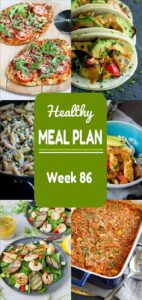 Another healthy meal plan coming your way! A great mixture of grilling and comfort food favorites are included this week. Nutritional information and Weight Watchers SmartPoints included. #mealplan #mealplanning #dinner