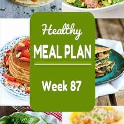 Healthy Meal Plan {Week 87}