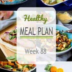 Healthy Meal Plan {Week 88}