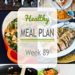 Healthy Meal Plan {Week 89}
