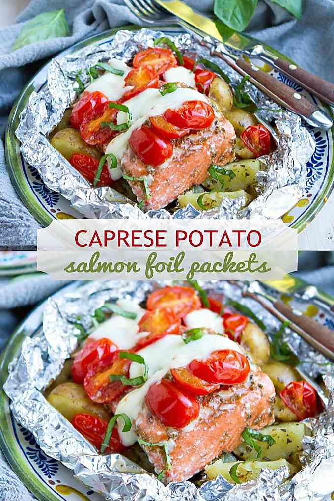 Cook this easy meal over the campfire or toss it on the grill. Fantastic flavors with very little effort! 404 calories and 7 Weight Watchers SP #weightwatchersrecipes #foildinner