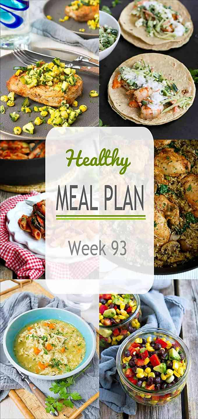 If you need new recipe ideas for this week's meal plan, I have plenty of options for you this week, including grilling and Instant Pot recipes. #mealplan #mealprep