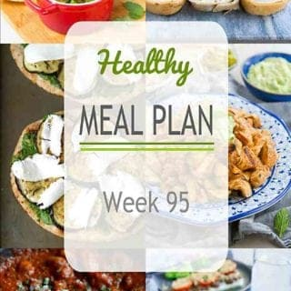 Time to get down to meal planning! This week's healthy meal plan has a great mixture of grilled, baked and Instant pot favorites. #mealplanning #dinner