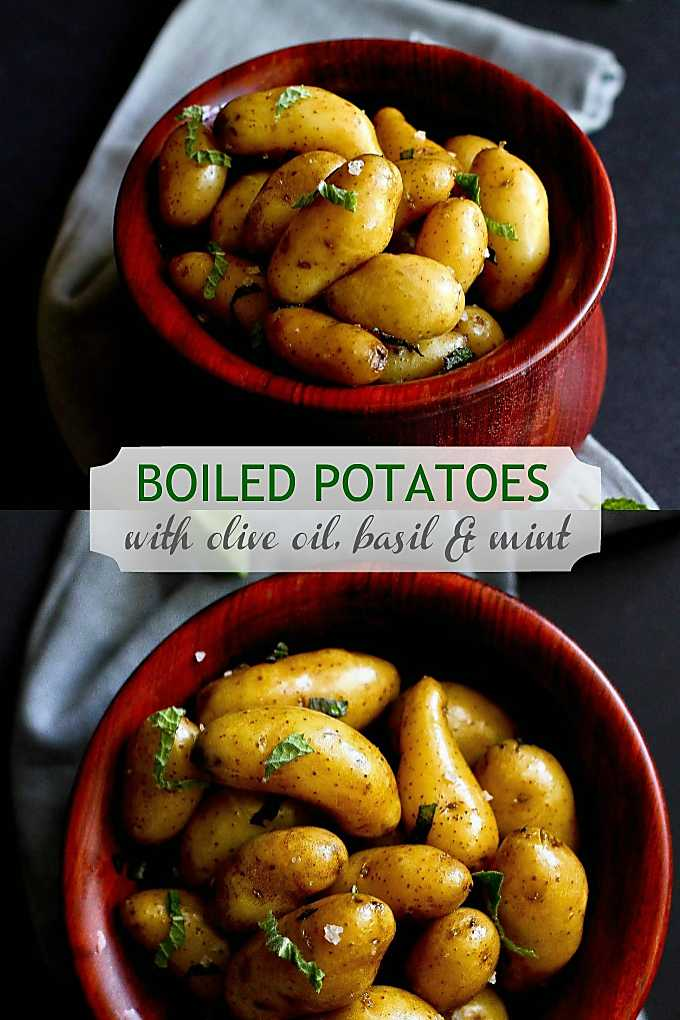 Boiled potato recipes may not be earth shattering, but they are delicious when seasoned well. 87 calories and 3 Weight Watchers Freestyle SP #vegetarianrecipes #wwfreestyle