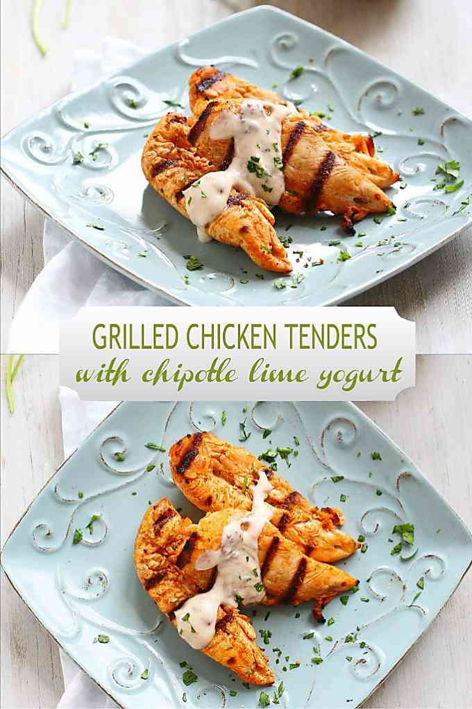 Add this grilled chicken tenders recipe to your recipe arsenal. They're easy, delicious and healthy! 179 calories and 2 Weight Watchers Freestyle SP #wwfreestyle #healthyeating