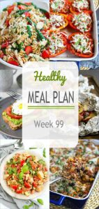 Dive into this week's healthy meal plan for everything from a much-loved pasta salad to an easy turkey rice casserole. #mealplanning #mealplan #healthyeating