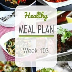 Healthy Meal Plan {Week 103}