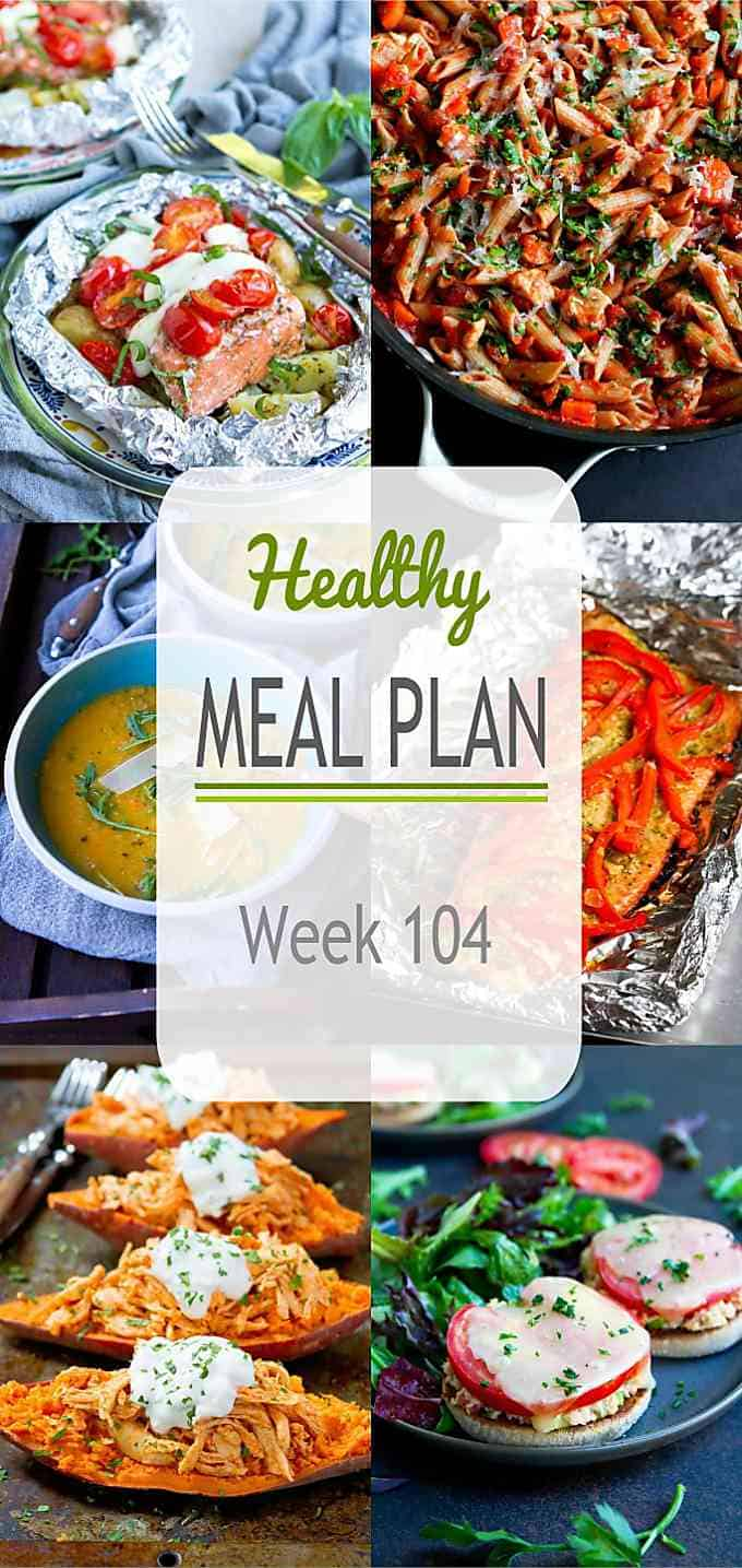 With the fall schedule in full swing, it's even more important to meal plan to be able to get healthy dinners on the table. This week's plan has plenty of quick and easy ideas! #mealplanning #mealprep