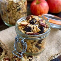 Apple Pie Homemade Granola Recipe