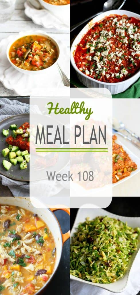 Meal planning dinner ideas, included soups, stews and casseroles.