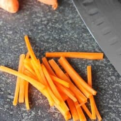 How to Julienne Carrots