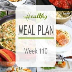 Healthy Meal Plan {Week 110}