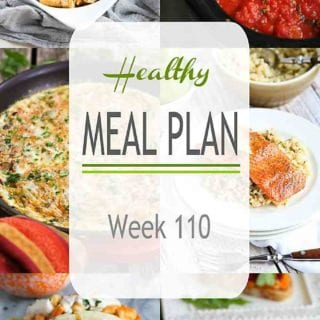 Time for your weekly meal planning session! This week's meal plan includes slow cooker, Instant Pot and vegetarian recipes. #mealplan #mealplanning #mealprep