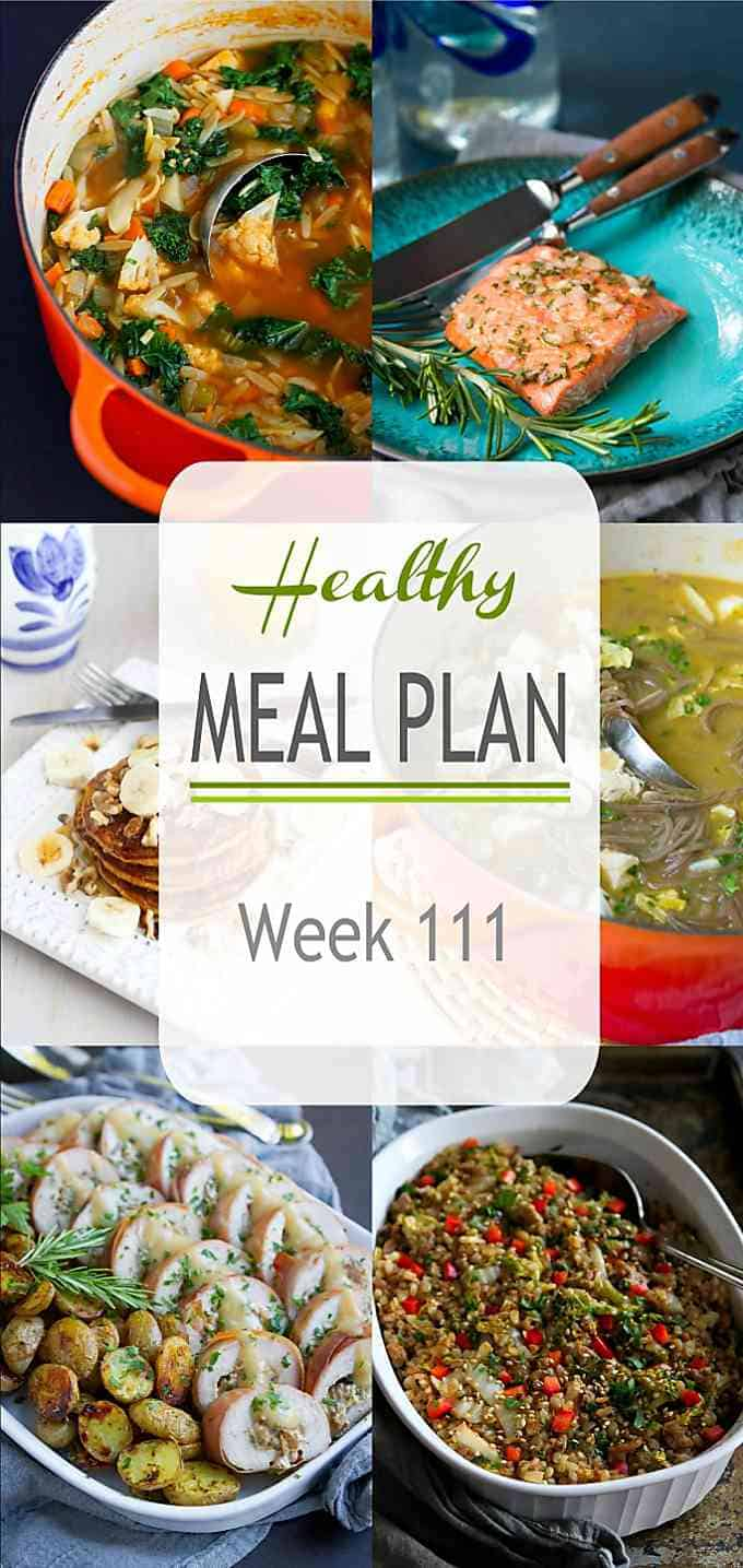 This week's healthy meal plan highlights a showstopping special occasion meal, as well as some easy and delicious weeknight meals. Come dive in! #mealplanning #mealplan #mealprep