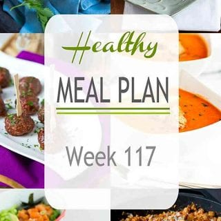 After a weekend of holiday eating, it's time to lighten things up with plenty of healthy and comforting meals from the archives. | Meal Planning | Dinner | Meal Prep #mealplan #mealplanning