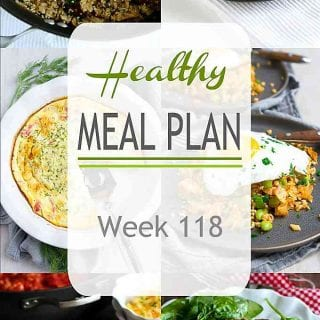 Low carb dishes, one pot meals and more this week! Check out the healthy dinner recipes that are perfect for meal planning any week of the year. | Meal Plan | Dinner | Meal Prep #mealplanning #mealprep #healthydinners