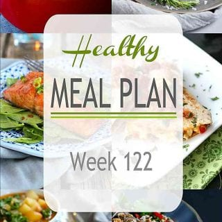 This week's healthy meal plan proves that healthy eating can be satisfying. A great mix of flavors in this week's recipes! | Meal Plan | Dinner | Meal Prep #mealplanning #mealprep #healthydinners