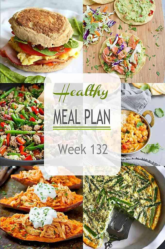 There are plenty of dinnertime suggestions - all with ingredient substitution options - in this week's meal plan. As usual, there's a mix of meat and meatless meals. #mealplanning #mealplan #dinner