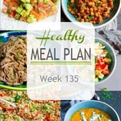 Healthy Meal Plan {Week 135}