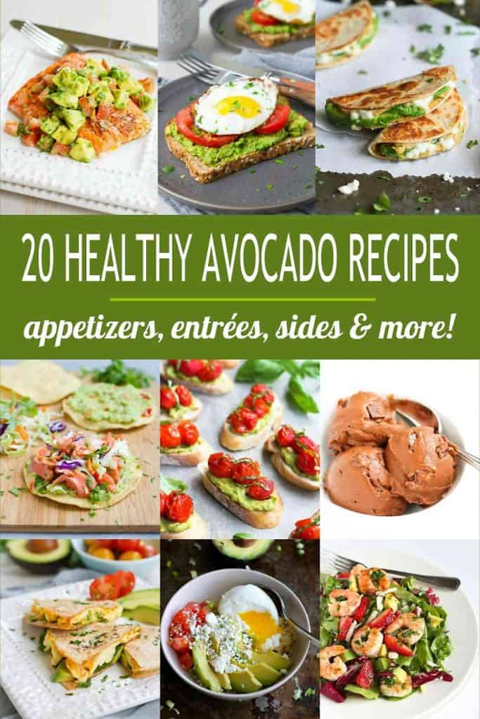 When avocado season hits, you can never have enough healthy avocado recipes on hand to take advantage of the creamy fruit. Appetizers, entrees and more! | Recipe | Clean Eating #avocadorecipes #cleaneating