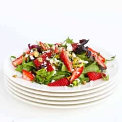 Strawberry Salad with Feta & Basil