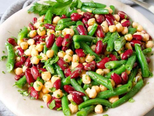 Three Bean Salad Recipe Cookin Canuck High Fiber Salad