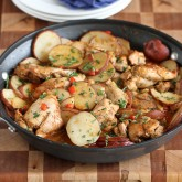 One-Pot Cumin & Smoked Paprika Chicken with Potatoes Recipe